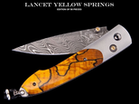 LANCET YELLOW SPRINGS ( EDIT.OF 50 PIECES )