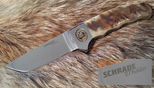 SCHRADE D'HOLDER CUSTOM SDH02 RAM HORN